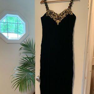 VINTAGE 80's formal dress
